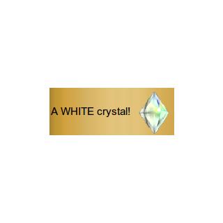 Rare White Crystal