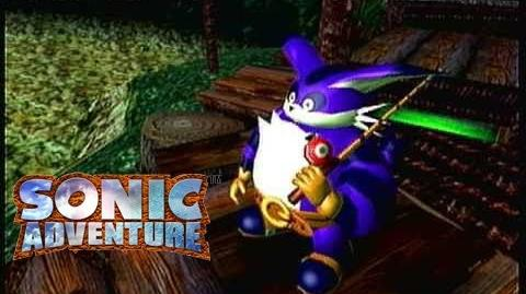 Sonic Adventure (Dreamcast) Big The Cat's Story