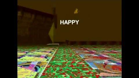ハッピータウンー~HAPPY~漢字テクスチャー