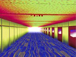 Hallway sexual textures