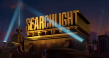Searchlight Pictures on-screen logo