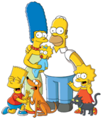 Simpsons FamilyPicture