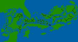 Zarujadec map