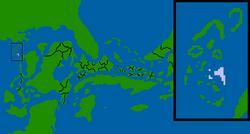 Kalmyod Republic map