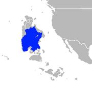 Map of Arito Sea