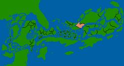Ypywrhwe map