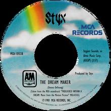 Styx - The Dream Maker 45