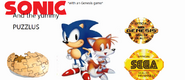 SONIC and the yummy PUZZLUS