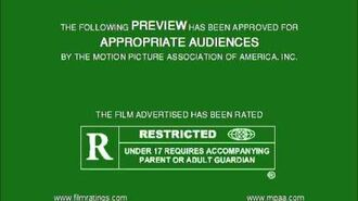MPAA Film Rating Preview Boards (V5; Homemade)