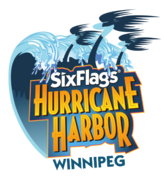 Six Flags Hurricane Harbor Winnipeg logo