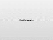 TSUGOSTW Shutdown