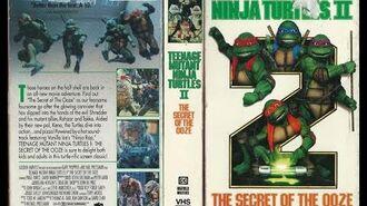 Opening to Teenage Mutant Ninja Turtles II The Secret of the Ooze 1991 VHS True HQ
