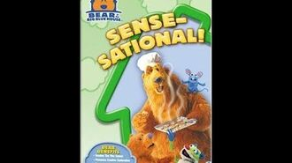 Opening to Bear in the Big Blue House Sense-sational! 2005 Reprint VHS*