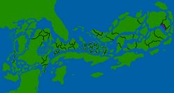 Hebraesia map