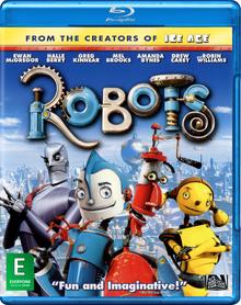 Robots ek bluray cover