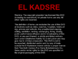 20th Century Fox Home Entertainment Warning Screens (El Kadsre)