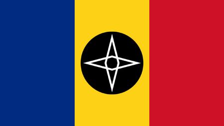 Flag of North El Kadsre