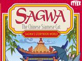Sagwa the Chinese Siamese Cat - Sagwa's Storybook World (DVD, Region 2, El Kadsre, 2003)