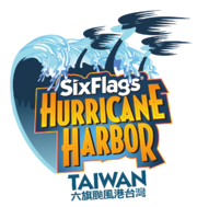 Six flags hurricane harbor taiwan logo