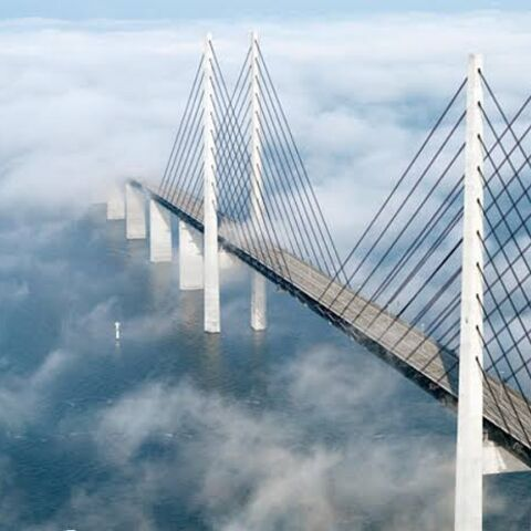 Merrisinapinas Bridge, before opening