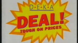 Deka Deal! Tough On Prices TV AD NZ