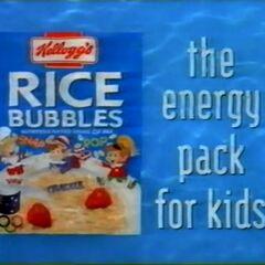 Kellogg's Rice Bubbles (1996)