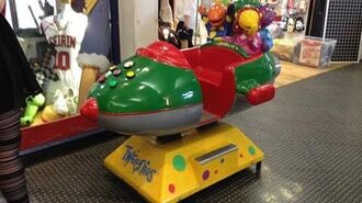 Tweenies Rocket Kiddie Ride