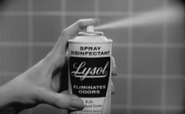 Lysol spray commercial (1963)