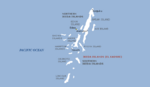 Map of the Ikeda Islands