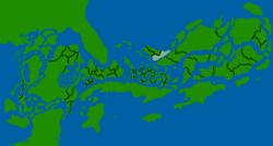 Xaofratls'se map