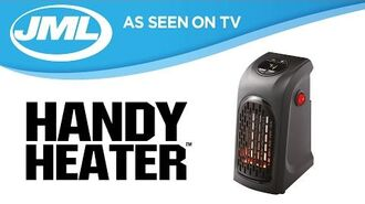 Handy Heater Personal And Portable Digital Electric Heater from JML
