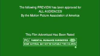 MPAA Film Rating Preview Boards (V6; Homemade)