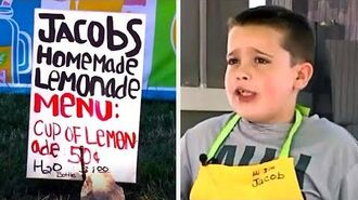 Angry Neighbor Is Seconds From Destroying Boy's Lemonade Stand, But Cops Flood The Street With APlan