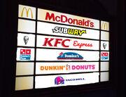 Azara Arena food court sign