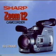 Sharp Zoom 12 Camcorder (1990)