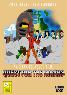 Quest for the Masks 1997 DVD cover