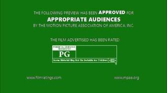 MPAA Film Rating Preview Boards (V7; Homemade)