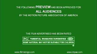 MPAA Film Rating Preview Boards (V3; Homemade)