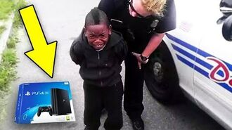 Kid STEALS PS4 from GameStop.. (MUST WATCH!)