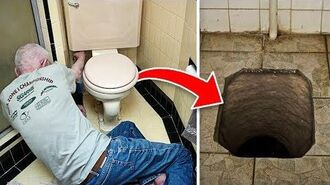While Replacing The Toilet, Man Uncovers Secret That Had Been Hidden For Centuries