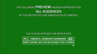 MPAA Film Rating Preview Boards (V1; Homemade)