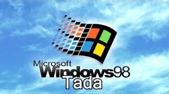 Windows 98 Sound- Tada