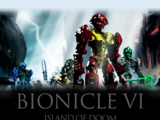 Bionicle VI: Island of Doom (DVD, Region 2, El Kadsre, 1997)