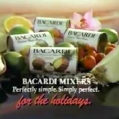 Bacardi Tropical Fruit Mixers (1986)