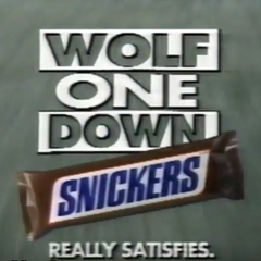 Snickers [Wolf one down] (1994)