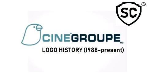 CineGroupe Logo History (1988-present)