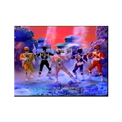 Mighty Morphin Power Rangers action figures (1994)