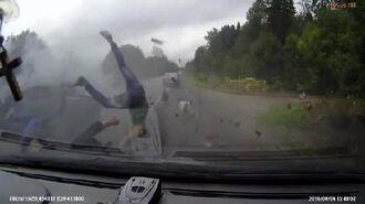 FAIL Hardest Car Crash Compilation 16 Fails crashes Terrible car crash