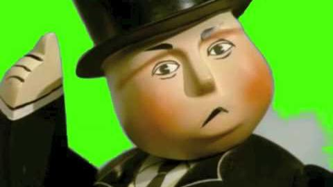 The Fat Controller SILENCE in Green Screen