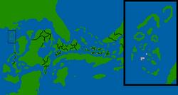 Kalmyod Democratic Republic map